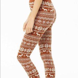 Nordic knit Leggings